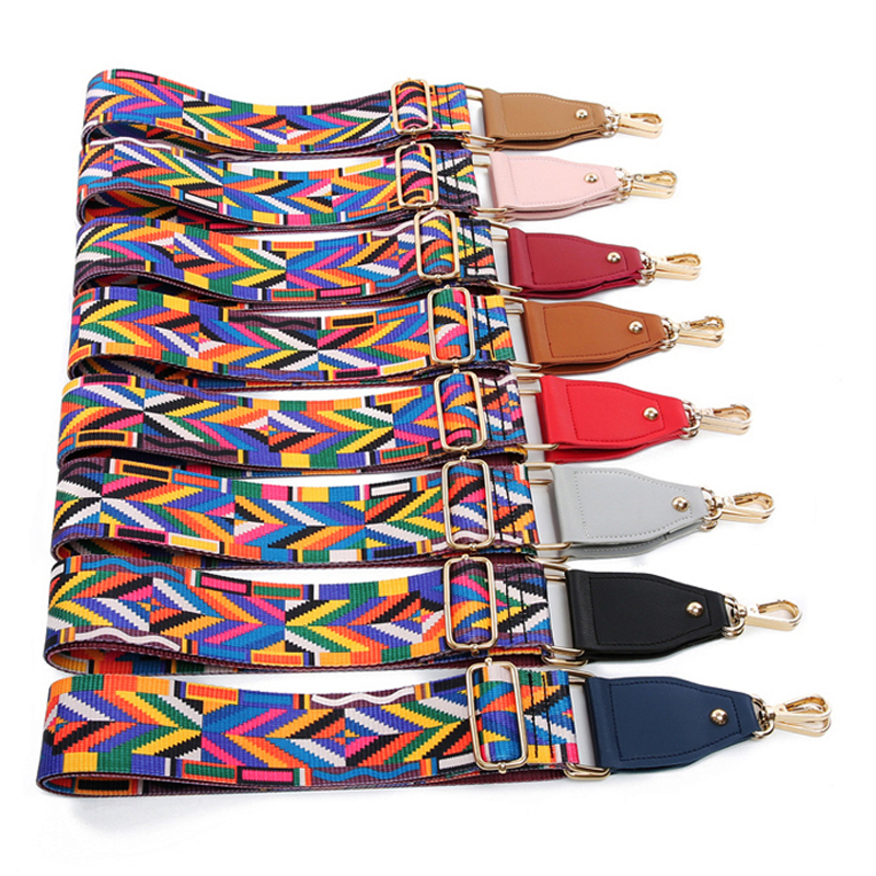 8961ad217e 4 Metal Colors! DIY 140cm Adjustable Replacement Shoulder Bag Straps for  Handbags Bags Belt 5cm Colorful Wide Strap with Leather-in Bag Parts    Accessories ...