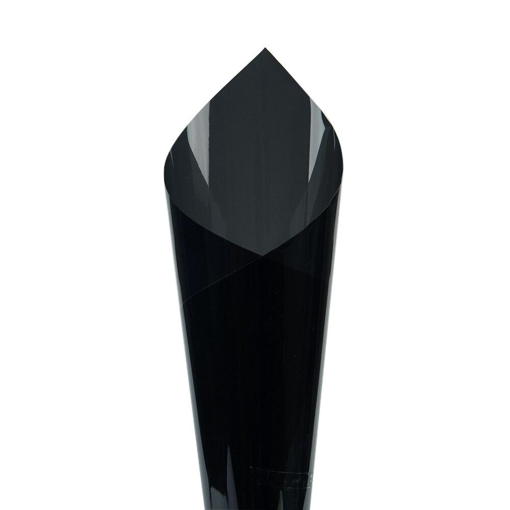 1.52 m x 5 m 10% VLT Bureau Maison De Voiture Fenêtre Teinte VLT Film 99% Anti UV Preuve Noir IR Réduction 99% Vente Chaude - 2