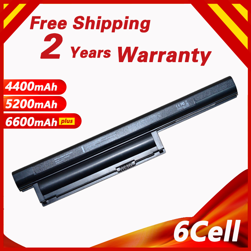 6cell Laptop Battery For SONY VGP-BPL26 VGP-BPS26 VGP-BPS26A BPS26 BPL26 For VAIO SVE141100C SVE14115 SVE14116 SVE15111 SVE14111