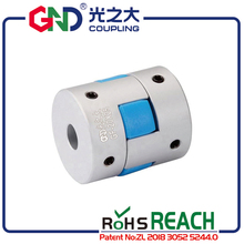 GND gear hole minimum 3mm maximum 16mm Jaw D20 L30 shaped setscrew series flexible coupling shaft coupler servo motor