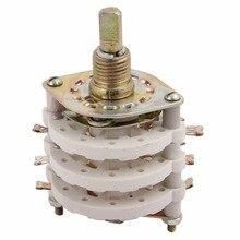 1 шт. 3 двухслойные 6 мм Вал Поворотный переключатель полосы канала Selecter 3P6T/3P11T/3P8T