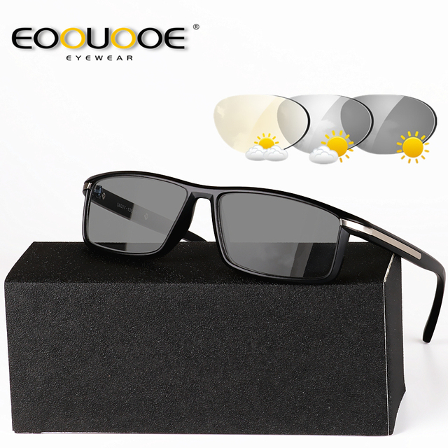 cc93e8d29a9 Design Photochromic Reading Glasses Men Presbyopia Eyeglasses sunglasses  discoloration with diopters 1.0 1.25 1.50 1.75 2.0 2.50