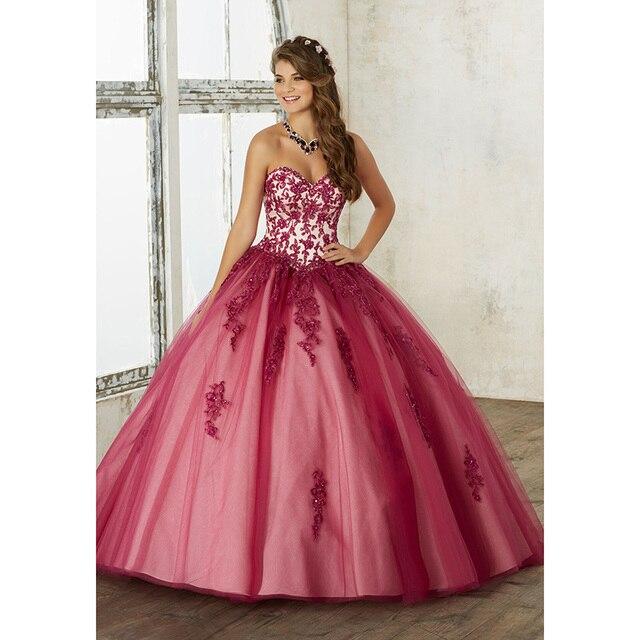 Chegam novas 2017 Chery Preto Coral Querida Bordado Lace vestido de Baile Vestido de Baile com Jaqueta Vestidos Quinceanera vestidos de 15