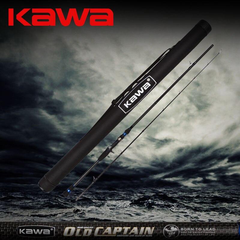 KAWA 2014 nouveau produit vieux capitaine, plus de carbone léger, tige de leurre, canne à poisson tête de serpent, livraison gratuite