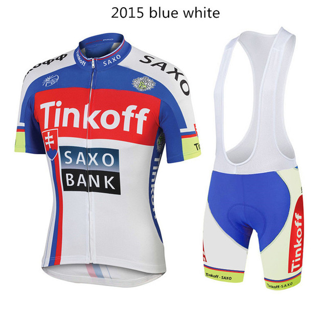 Tinkoff saxo cycling jersey summer style ropa ciclismo hombre short sleeve  saxo bank pro ciclismo breathable blue mtb bike team 6695daae4