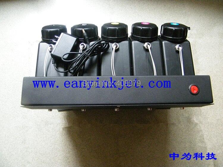 8 color UV bulk ink system with sensor for large format Plotter  LED UV curable inkjet ink printer(not need cartridge) decoder encoder strip sensor raster sensor for wit color 2000 plotter large format printer