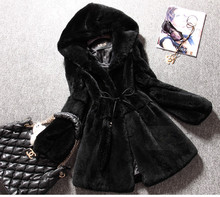 Free Shipping Genuine real natural full pelt Rex Rabbit Fur Coat Women s Winter Fashionable New