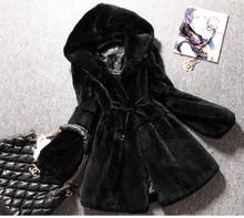 Free Shipping Genuine real natural full pelt Rex Rabbit Fur Coat Women's Winter Fashionable New Design Overcoat