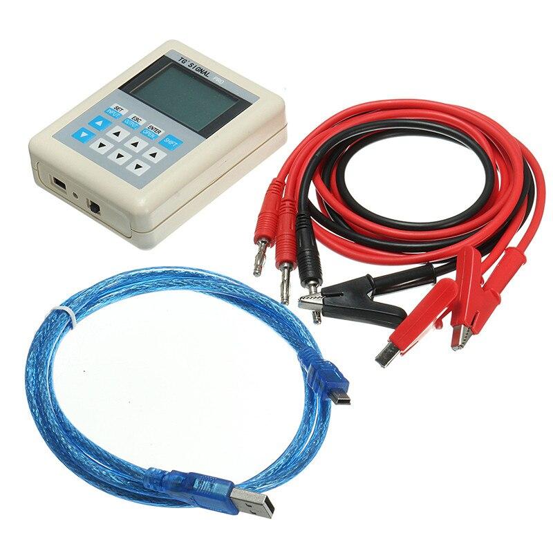 3 pièces 20mA/0-10 V courant générateur de Signal Source émetteur PLC Valve calibrage USB câble pour recharger - 4