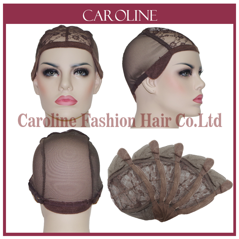 Glueless Lace Wig Cap For Making Wigs With Adjustable Strap Weaving