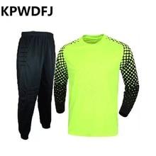 2017New football font b soccer b font doorkeeper goalkeeper font b jerseys b font sets long