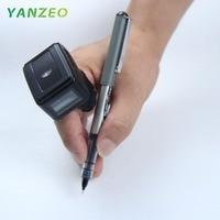 Yanzeo R1800 R1820 Portable Bluetooth 2D Barcode Scanner Wearable Ring Wireless Finger Mini QR Bar Code Scanner