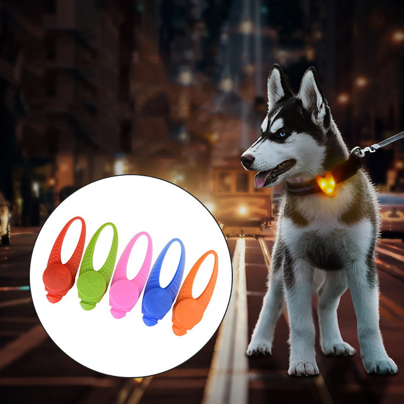 hoomall-1pc-rubber-dog-collar-with-colorful-led-lights-teddy-chihuahua-collar-pet-accessories-neck-collar-for-dogs-cats-decor
