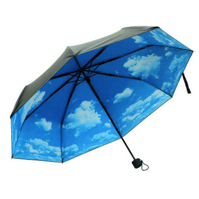Fashion New Super Anti Uv Umbrellas Sun Protection Parasols Rain