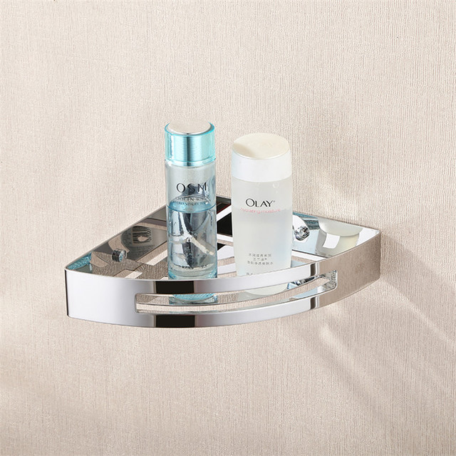 Contemporary Bathroom Wall Storage Rack Hardware Hanging Single Angle  Bathroom Accessories