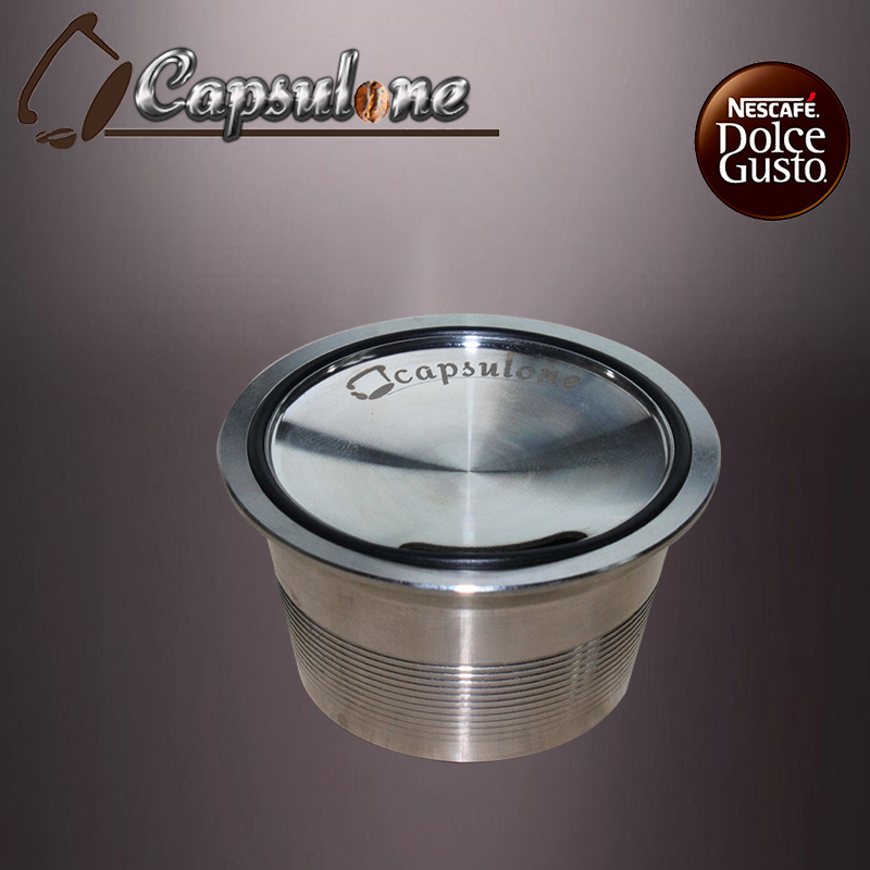 Dolce Gusto Coffee Capsule Stainless Steel Refillable Coffee Capsule Reusable Compatible With