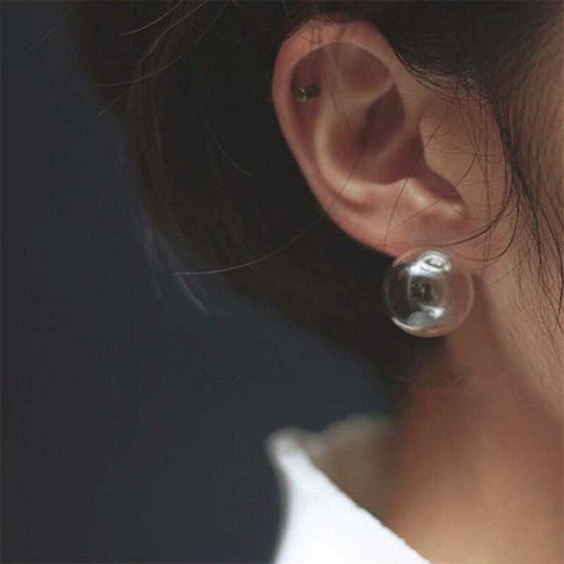 Cute Women Stud Earrings Fashion Jewelry Earrings Earing Transparent Bubble Ball 2017 women earrings Bijoux boucles