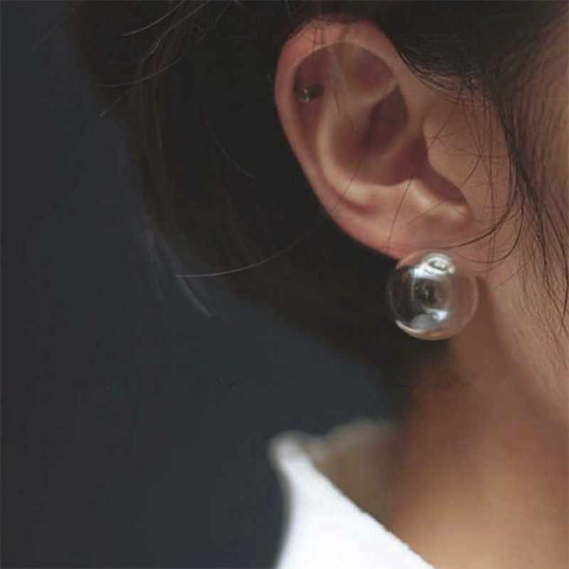 Cute Women Stud Earrings Fashion Jewelry Earrings Earing Transparent Bubble Ball 2019 women earrings Bijoux boucles NEW