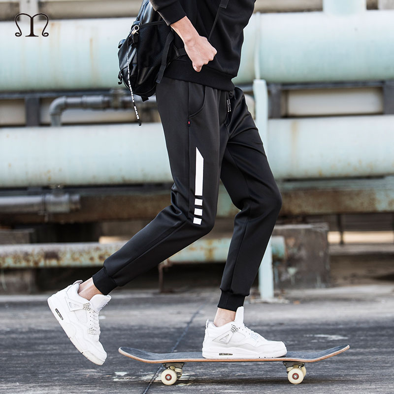 Mens Joggers Sweatpants 2018 Male Trousers Casual Pants Sweat Male Fitness Trousers New Brand Clothing Cargo Pants Men Sportwear