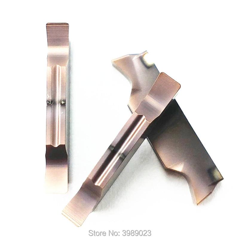 10 lâminas de aço inoxidável com fenda MGGN150/MGGN200/MGGN250/MGGN300/MGGN400/MGGN500 MGMN150 MGMN200 MGMN300 MGMN400 MGMN500