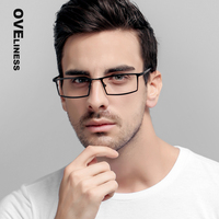 Mens Eyeglass Frames Clear Lens Glasses Vintage Eyeglasses Optical Frame Prescription Eyewear Big Square Glasses Frames