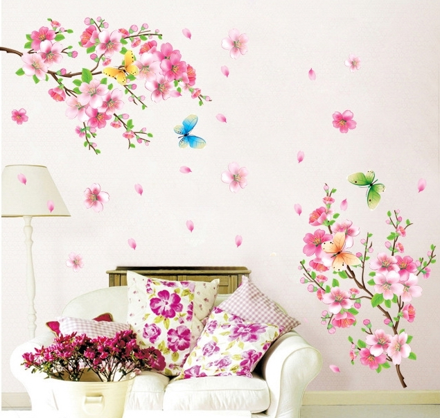 Aliexpress.com : Buy Large Beautiful Peach Blossom Flower