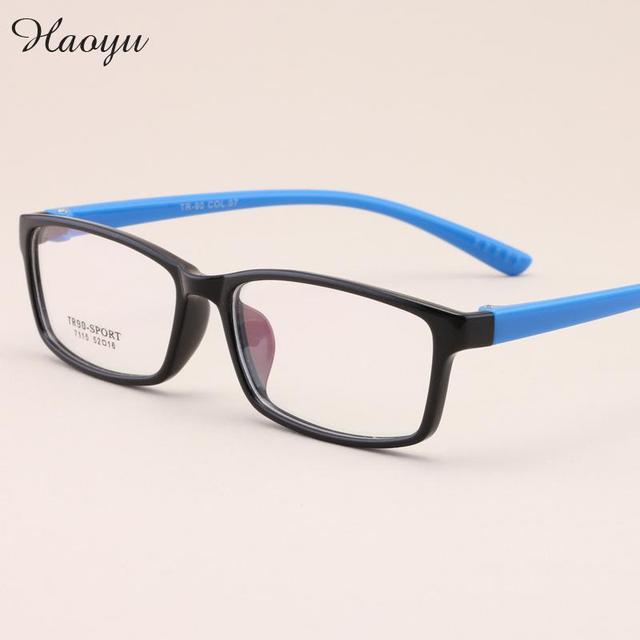 381e58dca54 Haoyu New Fashion Korean Version Tr90 Glasses Ultra Light Retro Men Women  Myopia Frame Optical Glasses Frame Oculos De Grau