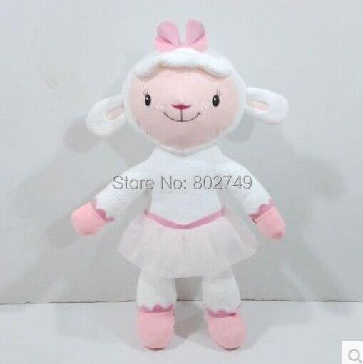 Doc McStuffins Lambie Jumbo en peluche jouets en peluche 60 cm mignon Lambie moutons en peluche grande taille