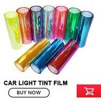 Car Headlight Tint Film Cover Wrap Chameleon Headlight Taillight Fog Brake Light Film 30cm*9m