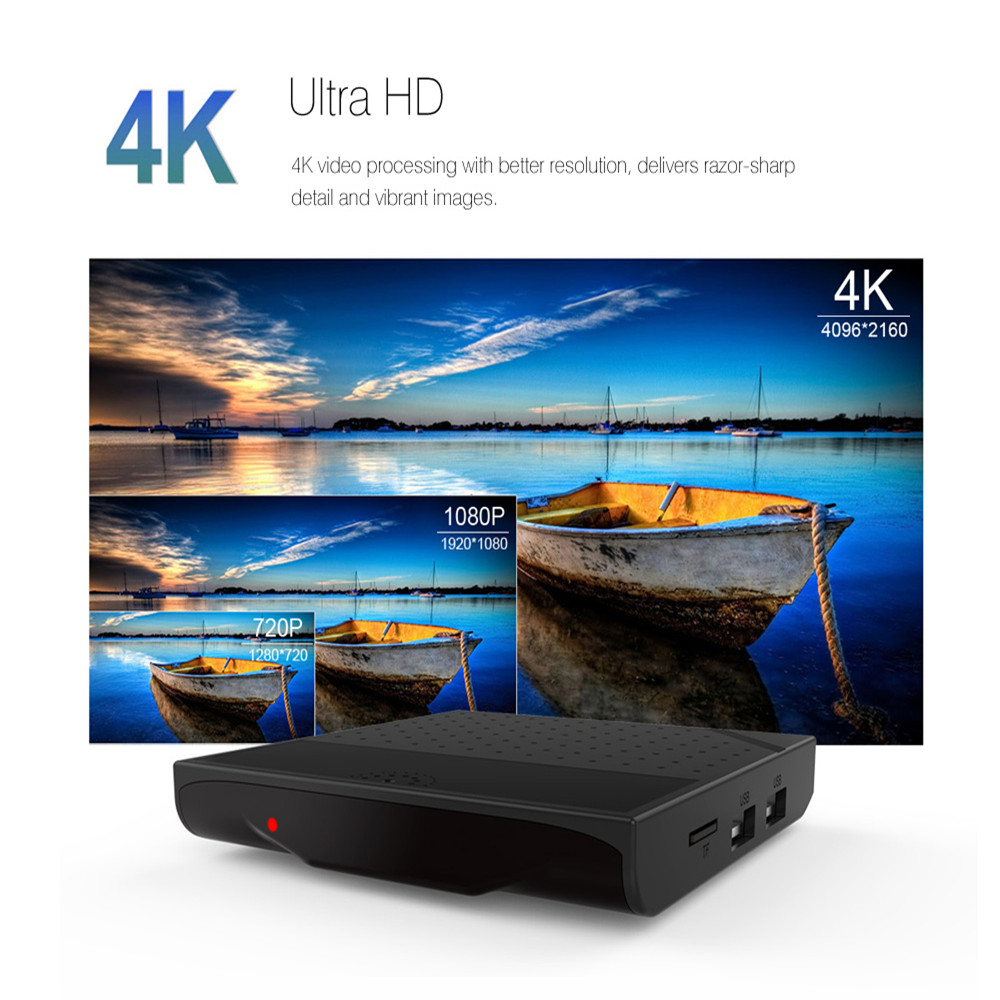 Mecool KM8 P Android 7.1 Amlogic S912 1G/2GRAM 8G/16GROM Octa Core CPU TV Box телеприставка mobase mxiii amlogic s802 android iptv 2 0 4 4 2 octa gpu 4k 1g 8g xbmc