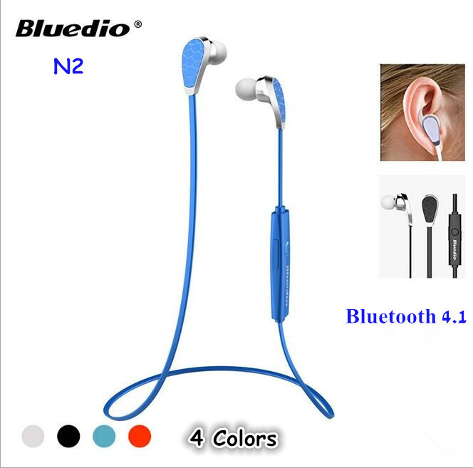 100% Bluedio N2 Headphone to Ear Bluetooth 4.1 Stereo Noise Isolating Wireless Headphones With Mic Fone De Ouvido Sem Fio