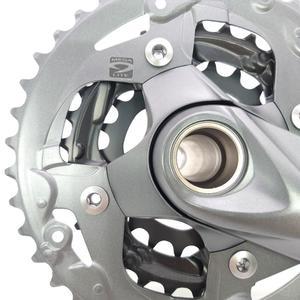 Image 2 - Shimano Alivio M4050 T4060 27S bike guarnitura 22 30 40T 22 32 44T 170 millimetri 3*9 velocità di 40t 44t hollow guarnitura bicicletta ruota di catena BB52