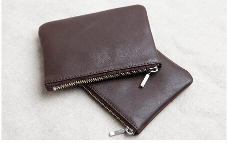 Emarald new fashion genuine leather coin purse with good quality free shipping