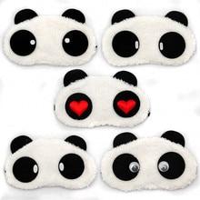 1PCS Fashion Cartoon Blindfold Sleeping Eye Mask Panda Sleeping Eye Mask Nap Eye Shade Sleeping Travel Rest Patch Blinder