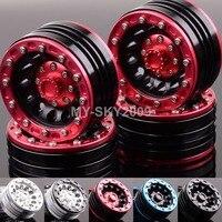 4pcs Aluminum 1 9 Beadlock Wheel Rims 1060 For 1 10 RC Truck Rock Crawler Axial