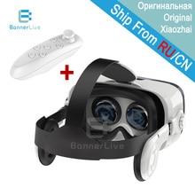 Оригинальный bobovr Z4 3D Очки VR коробка Очки контроллер Bluetooth виртуальной реальности картон для 4-6 «смартфон
