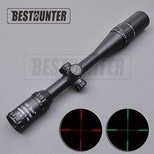 Luneta reticle carl zeiss 4-16×40 białe litery oznaczenia czerwony i zielony reticle crosshair sight rifle scope polowanie optyka