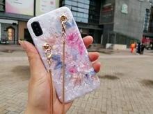 Роскошные модные цветочные мягкие чехол для телефона для iphone XS максимальный чехол для iphone X XR 6 6 S 7 8 плюс 7 plus мессенджер Ремешок цепи Роза