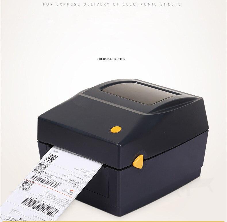 Новые принтеры штрих кодов для одежды поддержка этикеток 20 мм ~ 108 мм ширина печать электронная поверхность термопечать штрих код принтер эт