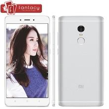 Original Xiaomi Redmi Note 4 Pro 4G 3G RAM MTK Helio X20 Deca Core 64G ROM Fingerprient ID 13MP 5.5″1080P 4100mAh Mobile Phone