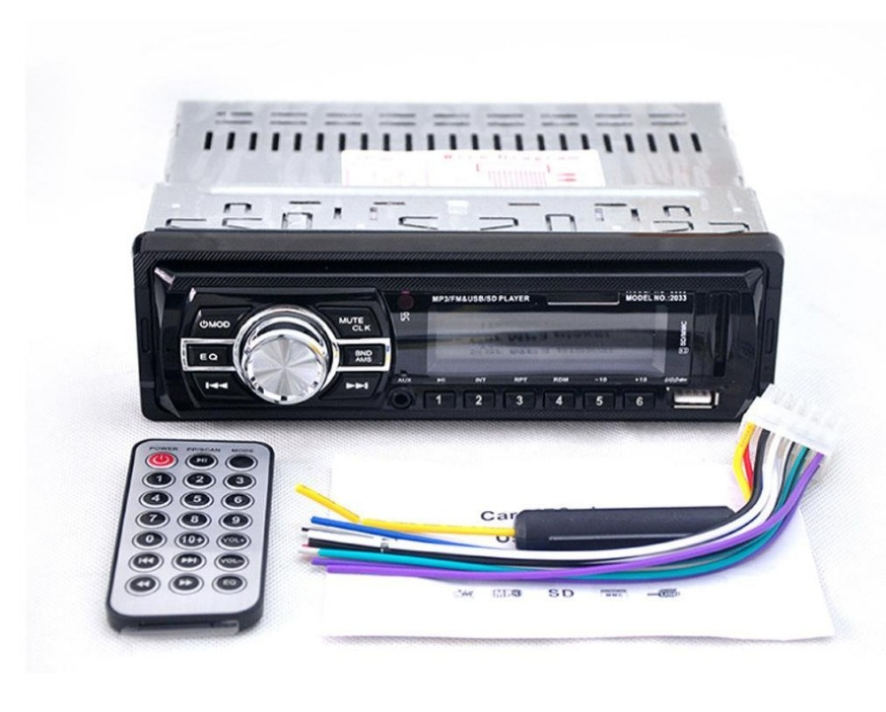 2033 12 V Autoradio Audio Player Stereo MP3 FM Transmitter ...