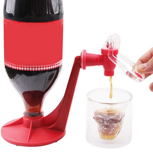 Creative Beverage Drink Dispenser Electric Automatic Drinking Straw Fruit Juice Coke Milk Drinks Suck Tools Dropshipping in Water Pots Kettles from Home Garden