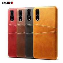 Leather Phone Case For Huawei P30 Pro Slim Wallet Card Back Cover P20 Mate20 Mate10 Lite Mate9 Coque