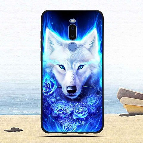 Case For Meizu Note 8 Colorful Patterned Soft TPU Silicone Ultra-thin Protective cases Back phone shell covers fundas coque capa Karachi