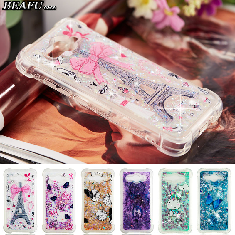 For Funda Huawei Y3 2017 Case Silicone Liquid Phone Cover For Etui Huawei Y5  Lite 2017 Case