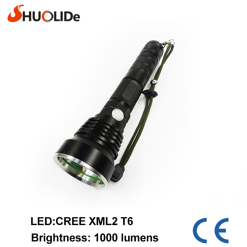 High Power SLD-YC213 CREE XML2 T6 3 Modes 1000 Lumens LED Flashlight Waterproof  2*18650 or 2*26650 Torch lights for bike lamp sitemap 213 xml
