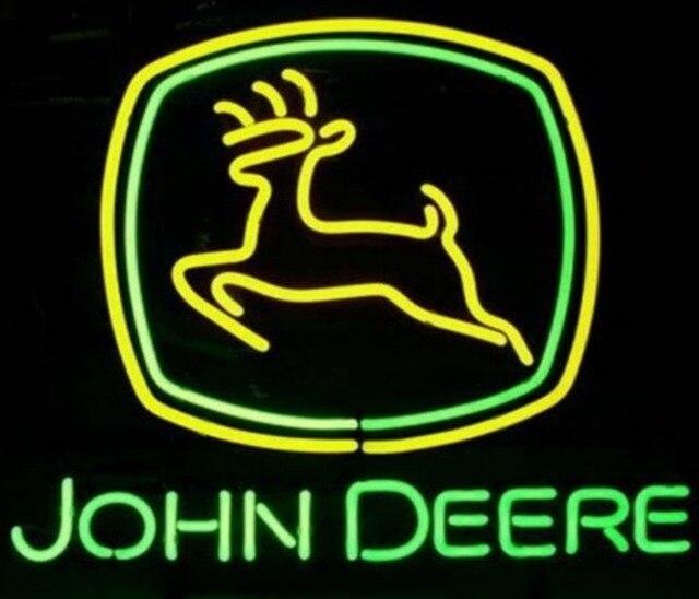 CustomJohn Deere Neon Light Sign Beer Bar