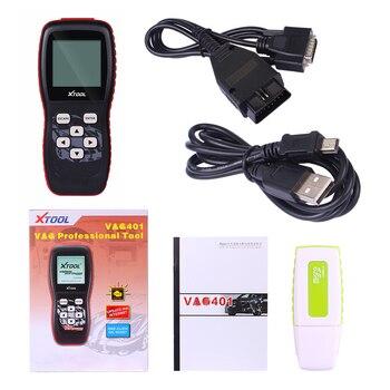 VAG401 Professional Code Reader Scanner OBD2 Auto diagnostic Tool for AUDI/SEAT/SKODA/VW VAG 401 Automobiles Scanner vag k can commander 1 4 obd2 диагностический инструмент сканер com кабель для audi skoda