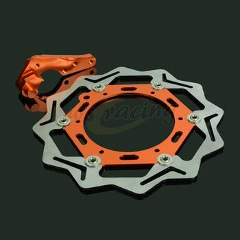 CNC 270MM Motorcycle Front Floating Brake Disc & Bracket For KTM MX520 SX520 XCG525 XCW525 EXC525 MXC525 SX525 XC525 EXC530R