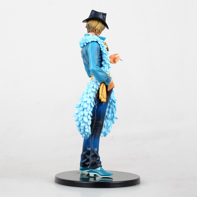 Anime One Piece Sanji 15th Edition vo1 6 PVC Action Figure Collrctible Toy 7 quot 18CM J01 in Action amp Toy Figures from Toys amp Hobbies